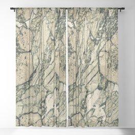 Garnet Crystals Sheer Curtain