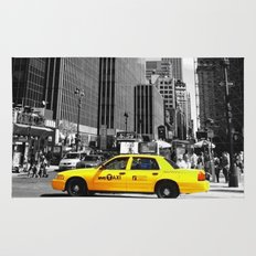 The yellow cab Rug