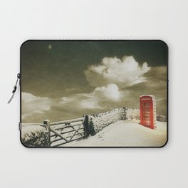 Winter in the Cotswolds, England Laptop Sleeve