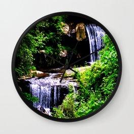 Chasing Waterfalls Wall Clock