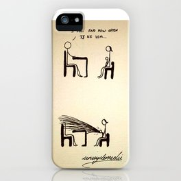 Vomiting iPhone Case