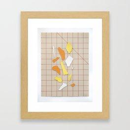 Grid Work #3 Framed Art Print