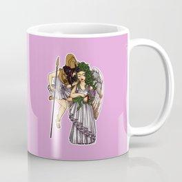 Athena and Medusa Coffee Mug