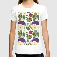 vegetables T-shirts featuring vegetables by Aina Bestard