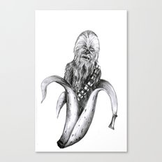 Chewbacca banana Canvas Print