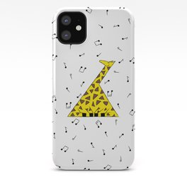 Singing Giraffe iPhone Case