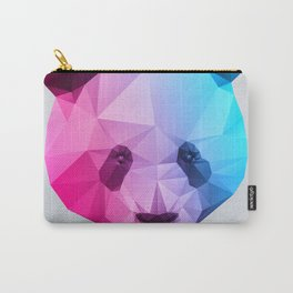 Polygon Panda Bear Carry-All Pouch