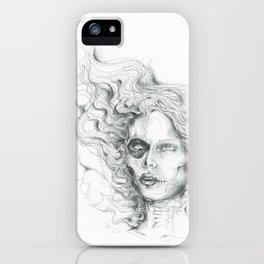 Wisp Skull iPhone Case