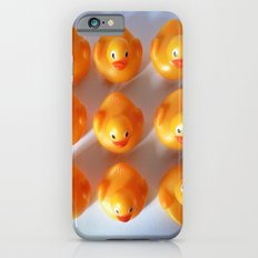 Rubber Ducks in a Row iPhone 6s Slim Case