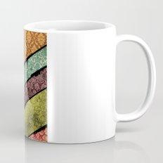 Vintage Material Chevron Coffee Mug