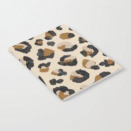 Leopard Print – Neutral Gold Light Palette Notebook