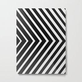 Chevron minimalist Metal Print