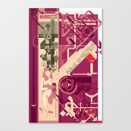Phallic Attachment Canvas Print