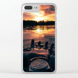 Liquid. Clear iPhone Case