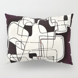 Abstract-Interaction of Shapes IV Pillow Sham