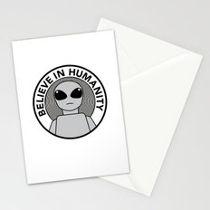 Believe in Humanity Stationery Cards