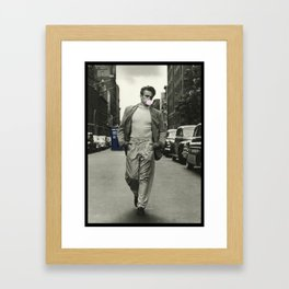 Time Traveler & Bubble Gum Framed Art Print