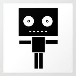 Robot Pop Art Print