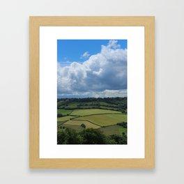 The English Countryside II Framed Art Print