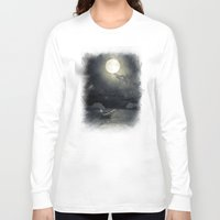 airplanes Long Sleeve T-shirts featuring Chapter V by Viviana Gonzalez