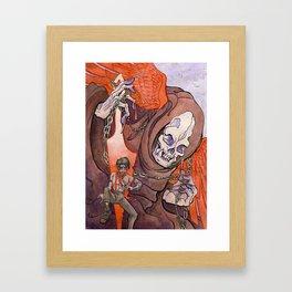 The Razor's Edge Framed Art Print
