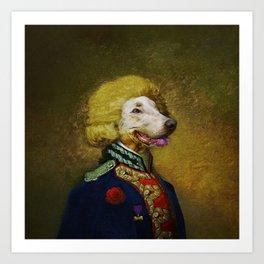 Portrait of Viscount Brock de Wiemer Art Print