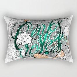 Carps and roses Rectangular Pillow