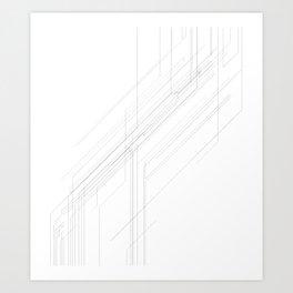 Open Arcana: Lines of Convergence Art Print