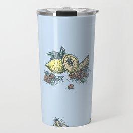 Lemon&Raspberry Travel Mug