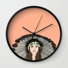 Southwest queen Wall Clock