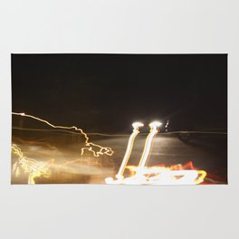 Car- Long Exposure Rug
