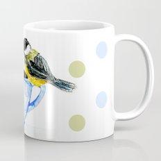 Morning coffee with a chickadee company Mug