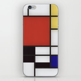 Piet Mondrian iPhone Skin