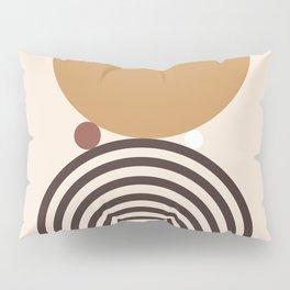 Minimal Rainbow Balance Pillow Sham