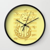 friendship Wall Clocks featuring Friendship by Sarinya  Withaya