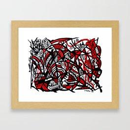 Abstract 21 Framed Art Print