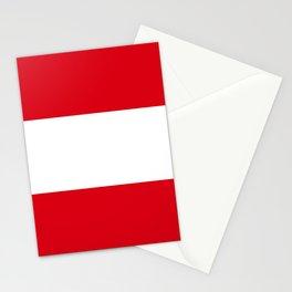 Flag: Austria Stationery Cards