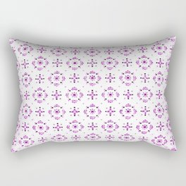 Victoria Pink Rectangular Pillow