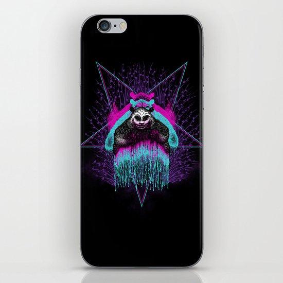 Possessed Panda iPhone & iPod Skin