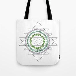Geometric Wreaths Tote Bag