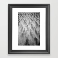 Shapes in the Sand II Framed Art Print