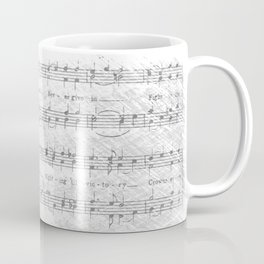 Wesleyan Fight Song Coffee Mug