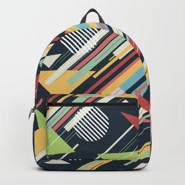 Retro Geometry Backpack