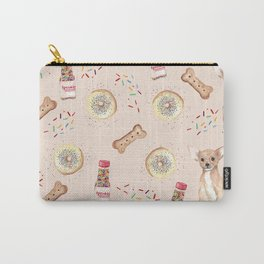 Chihuahuas and donuts Carry-All Pouch