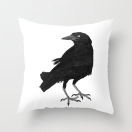 Blackbird - Tordo Throw Pillow