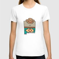 mexico T-shirts featuring New Mexico by Big Purple Glasses