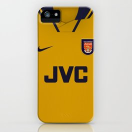 ARSENAL 1996-97 AWAY KIT iPhone Case