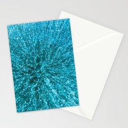 Baikal ice texture Stationery Cards
