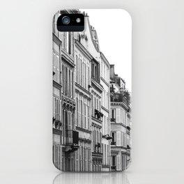 Street in Paris iPhone Case