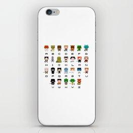 Star Wars Alphabet iPhone Skin
